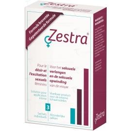 Zestra Désir féminin 3 x 0.8 ml