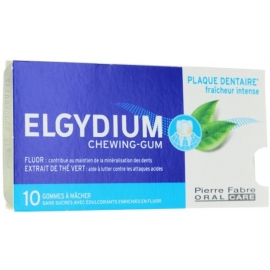 Elgydium Chewing-Gum Plaque Dentaire x 10
