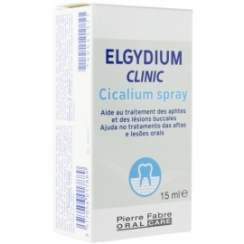 Elgydium Clinic Cicalium Spray Aphtes Lésions 15 ml