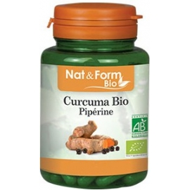 Atlantic Nature Nat & Form Bio Curcuma Piperine Bio 200 Gélules
