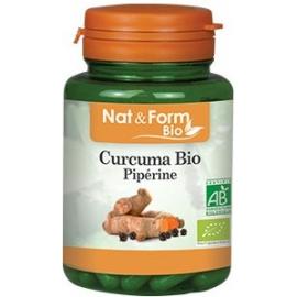 Atlantic Nature Nat & Form Bio Curcuma Piperine Bio 200 Gélules
