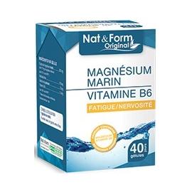 Atlantic Nature Nat & Form Magnésium Marin 40 Gélules