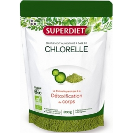 Super Diet Food Chlorelle Bio 200 g