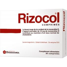 Rizocol 4 Cholestérol 30 Comprimés