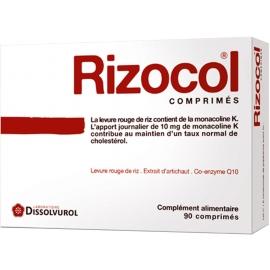 Rizocol 4 Cholestérol 90 Comprimés