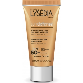 Lysedia Sundefense Protection Solaire SPF50+ Anti-âge 50 ml