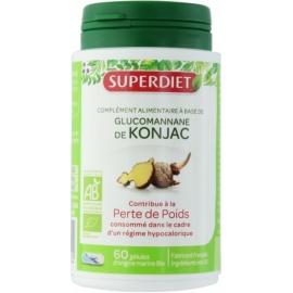 Super Diet Glucomannane De Konjac Bio 60 Gélules