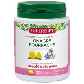 Super Diet Onagre Bourrache 200 Capsules