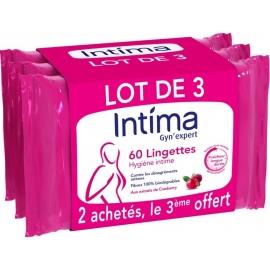 Intima Gyn'Expert Lingettes x 60