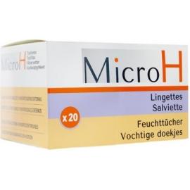 Micro H Lingettes Hémorroïdes x 20