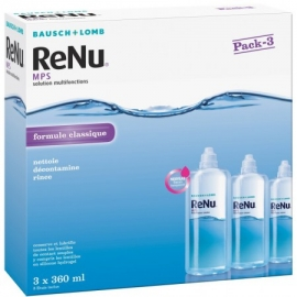 Bausch&lomb Renu Mps Solution multifionctions coffret