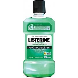Listerine Protection Dents et Gencives Bain De Bouche Quotidien Menthe Douce 500 ml