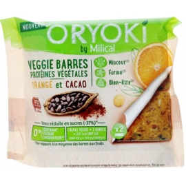 Milical Oryoki Veggie Barres x 2