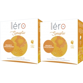 Léro SYNAPTIV Concentration Intellectuelle 2 x 30 Capsules