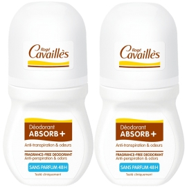 Rogé Cavailles Absorb + 48 h Sans Parfum Roll-on 2 x 50 ml