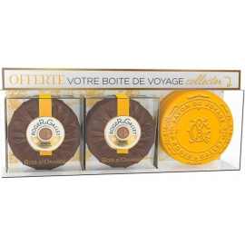 Roger & Gallet Bois D'Orange Coffret Savons + Boîte De Voyage Offerte