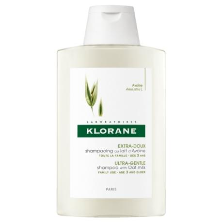 Klorane Capillaire Shampooing Extra Doux Au Lait D'avoine 400 ml