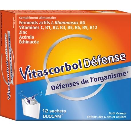 Vitascorbol Défense 12 Sachets
