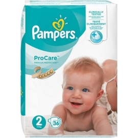 Pampers ProCare Premium Protection Taille 2 -6 kg x 36