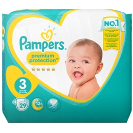 Pampers Premium protection Taille 3 6-10 kg x 29