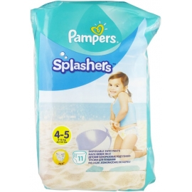Pampers Splashers Couches-Culottes De Bain Jetables Taille 4-5 x 11
