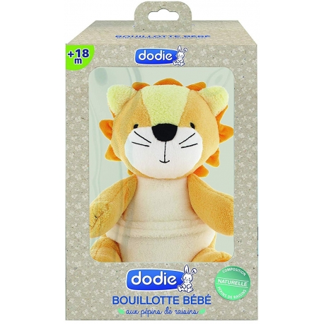 Dodie Bouillotte Bébé + 18 Mois Lion
