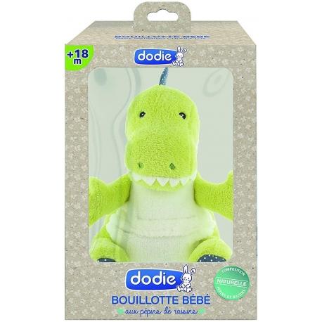 Dodie Bouillotte Bébé + 18 Mois Dinosaure