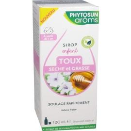 Phytosun Aroms Enfant Sirop Toux Sèche et Grasse 120 ml