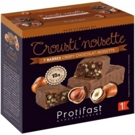 Protifast Crousti'Noisette Barres x 7