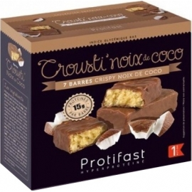 Protifast Crousti'Croisti'Noix De Coco Barres x 7