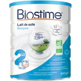 Biostime 2ème âge Lait Pour Nourrissons Bio 6 à 12 Mois 800 g