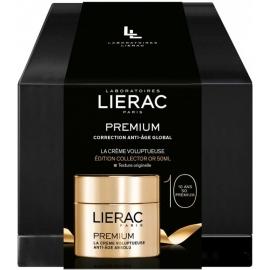 Lierac Premium Coffret La Crème Voluptueuse édition Collector Or 50 ml