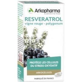 Arkopharma Arkogélules Resveratrol 45 gélules