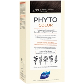 Phyto Phytocolor Coloration Permanente 4,77 Châtain Marron Profond