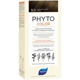 Phyto Phytocolor Coloration Permanente 5,3 Châtain Clair Doré