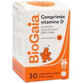 Biogaia Comprimés Vitamine D x 30