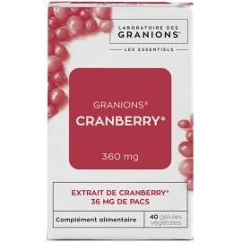 Granions Cranberry 40 Gélules