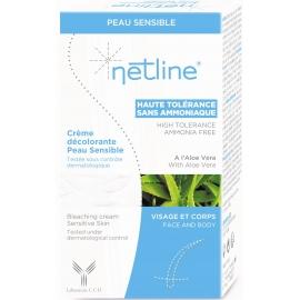 Netline Crème Décolorante Peau Sensible 30 ml