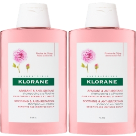 Klorane Capillaire Shampooing A la Pivoine 2 x 400 ml