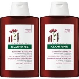 Klorane Capillaire Shampooing a la Quinine et Aux Vitamines B 2 x 400 ml