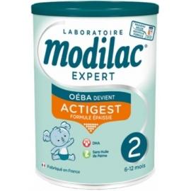 Modilac Expert 2 Actigest 6-12 Mois Sans Huile De Palme 800 g