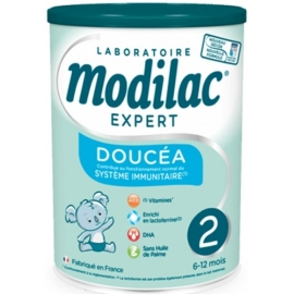 Modilac Expert 2 Doucéa 6-12 mois Sans Huile De Palme 800 g
