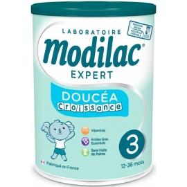 Modilac Expert 3 Doucéa Croissance 12-36 Mois Sans Huile De Palme 800 g