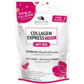 Biocyte Nutricosmetic Anti-âge Collagen Express 30 Gommes
