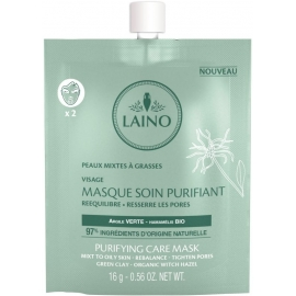Laino Masque Soin Purifiant Bio 16 g