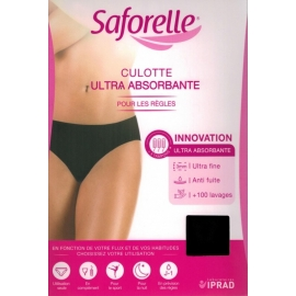 Saforelle Culotte Ultra Absorbante Pour Les Règles Taille XL