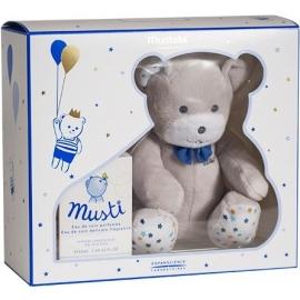 Mustela Bébé Coffret Musti Eau de Soin 50ml + Doudou Bleu