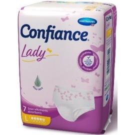 Confiance Lady Sous-Vêtements Absorbants 5G Taille L x 7