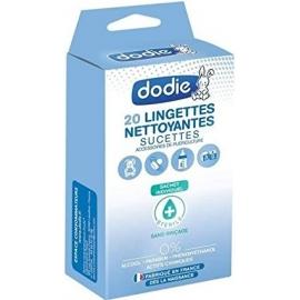 Dodie Lingettes Nettoyantes Sucettes x 20