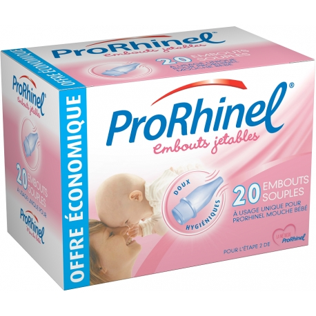 Prorhinel Embouts Jetables X 20